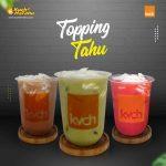 Waralaba Minuman Viral Topping Tahu Kvch Drink by Kuch2hotahu 081285385007